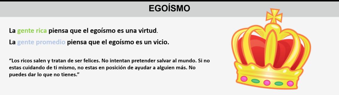 5Egísmo